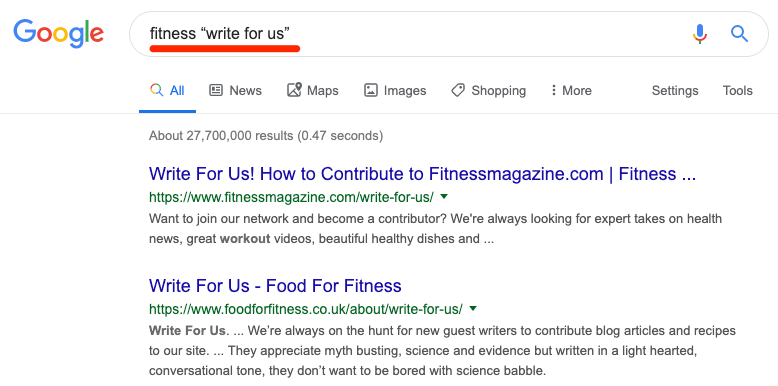 write for us google