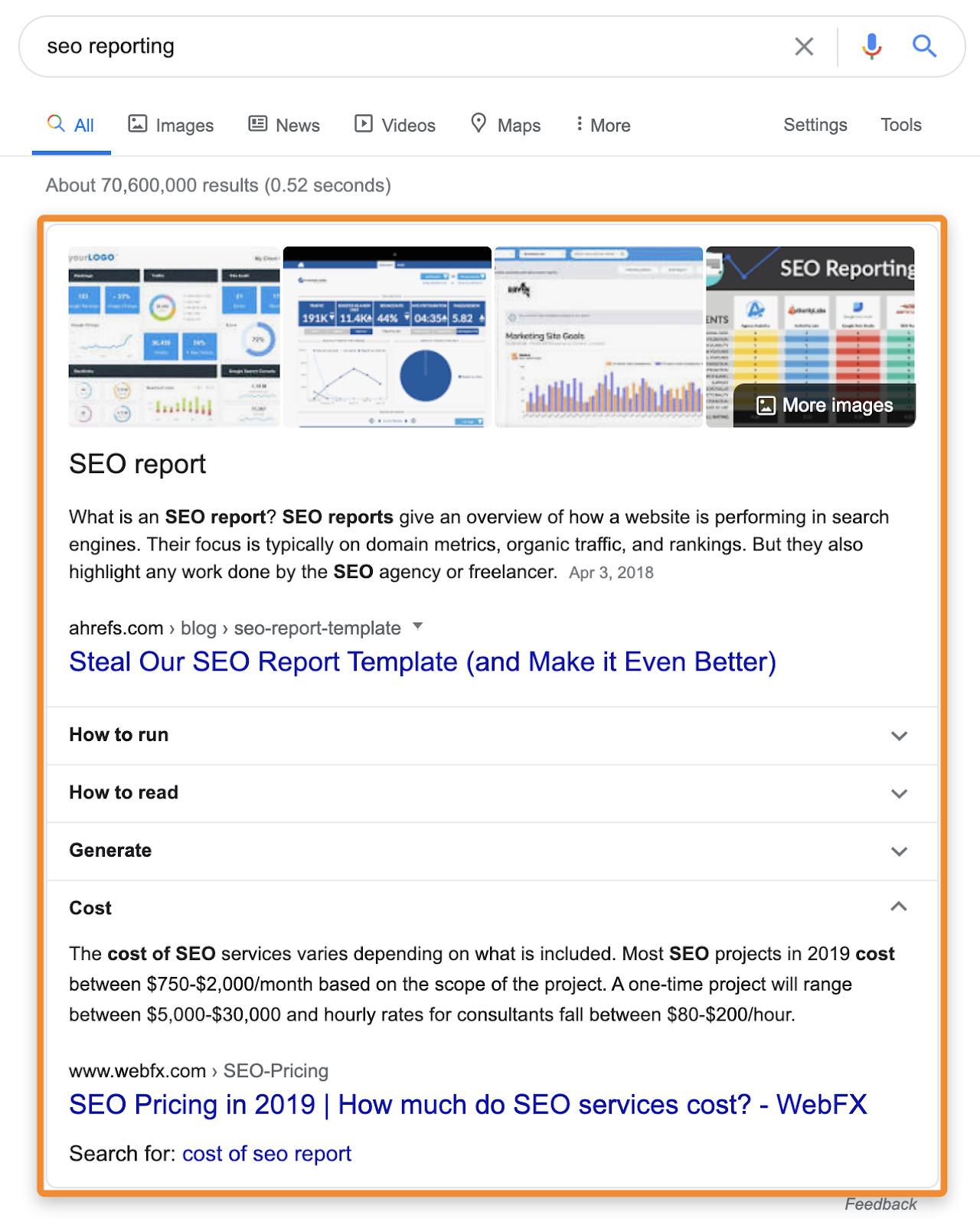 14 seo reporting