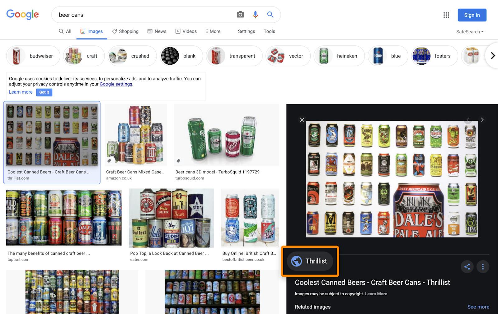 16 image pack google images