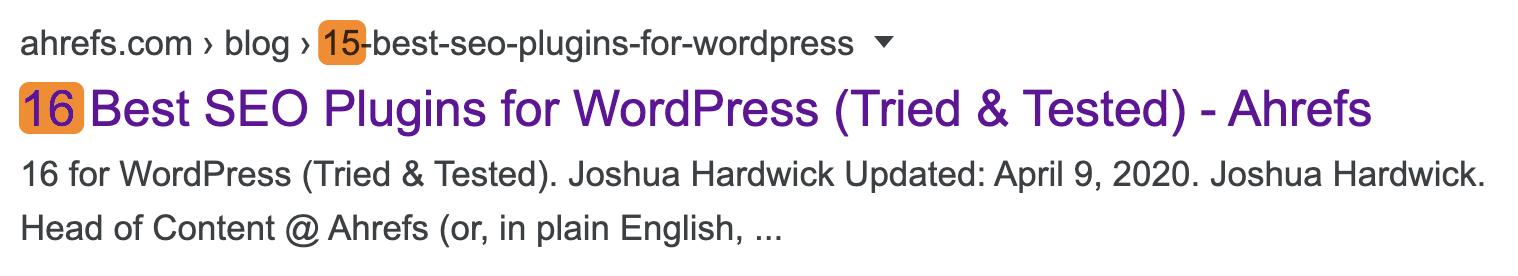 2 URL de titre incongruente 2