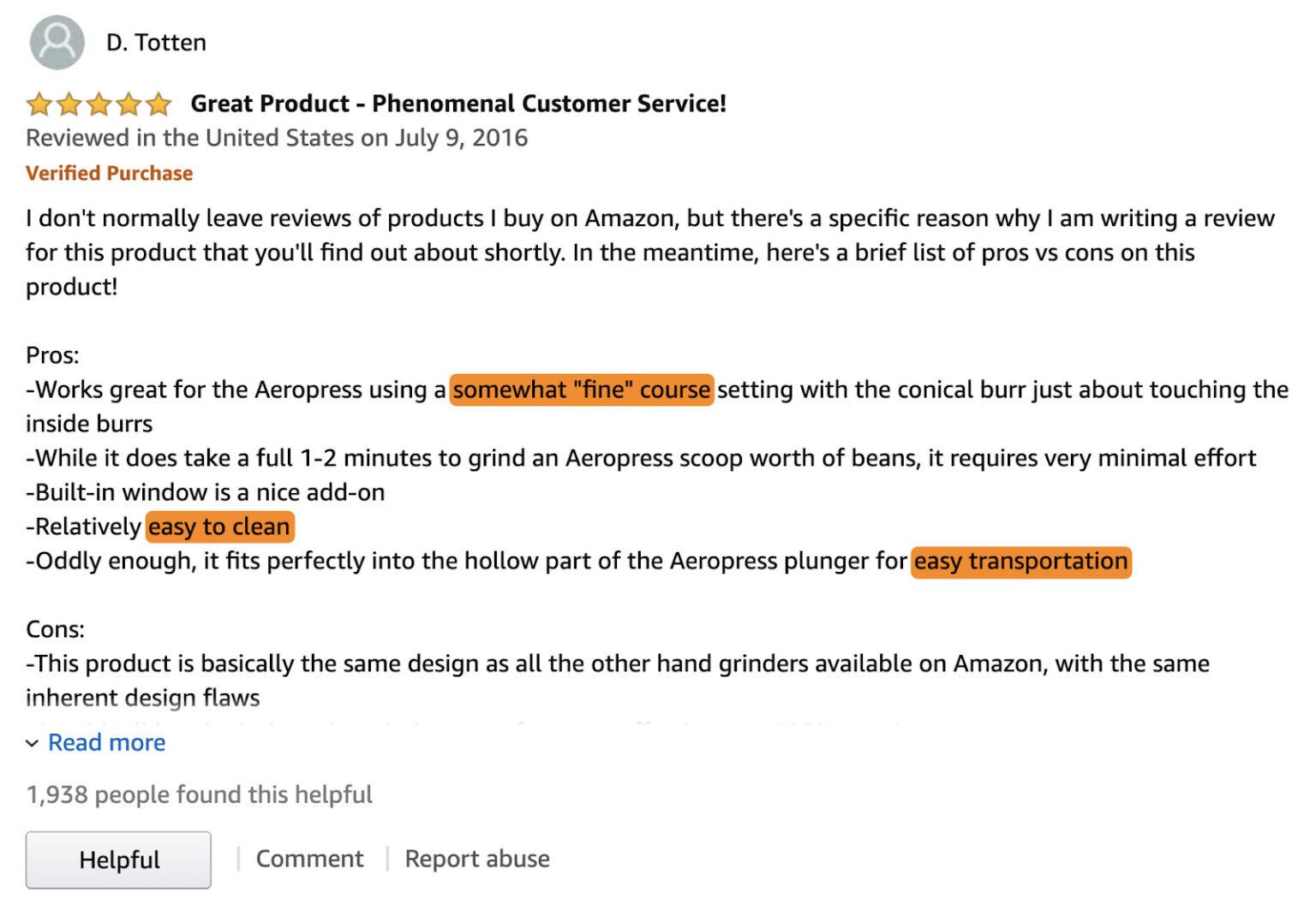 تقييمات منتجات أمازون