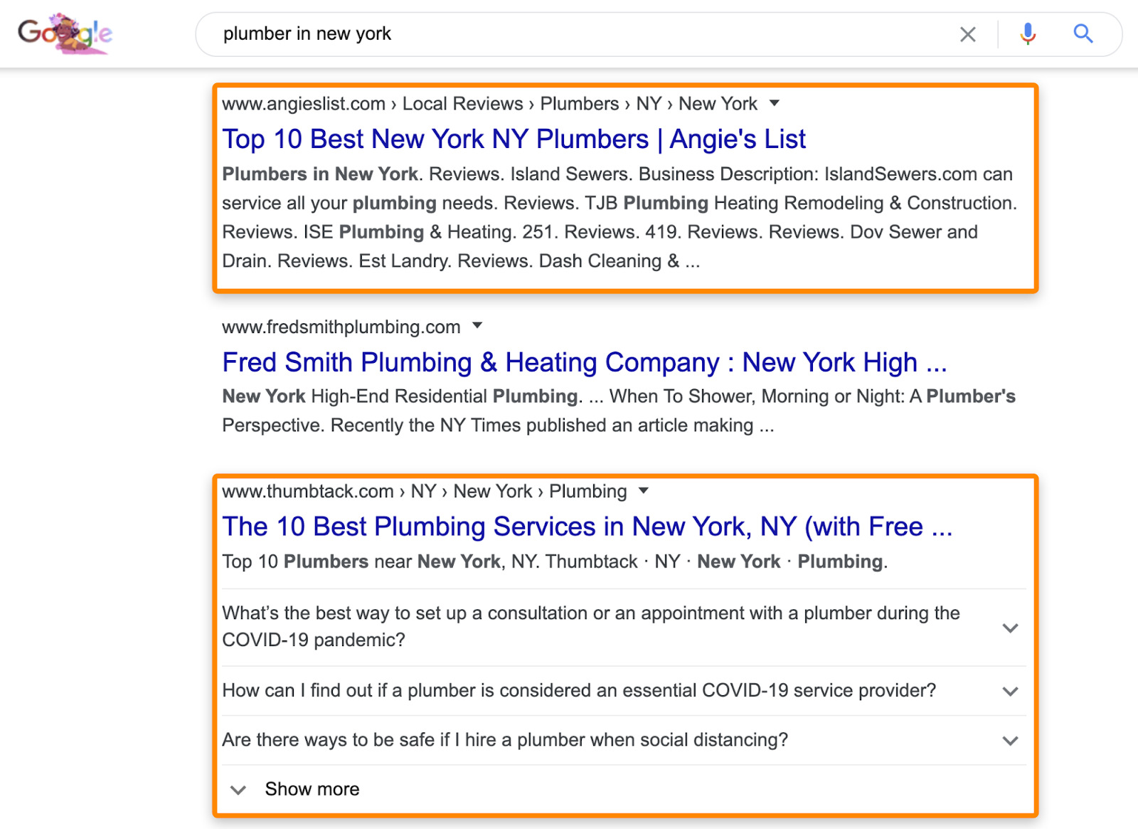 plumber in new york