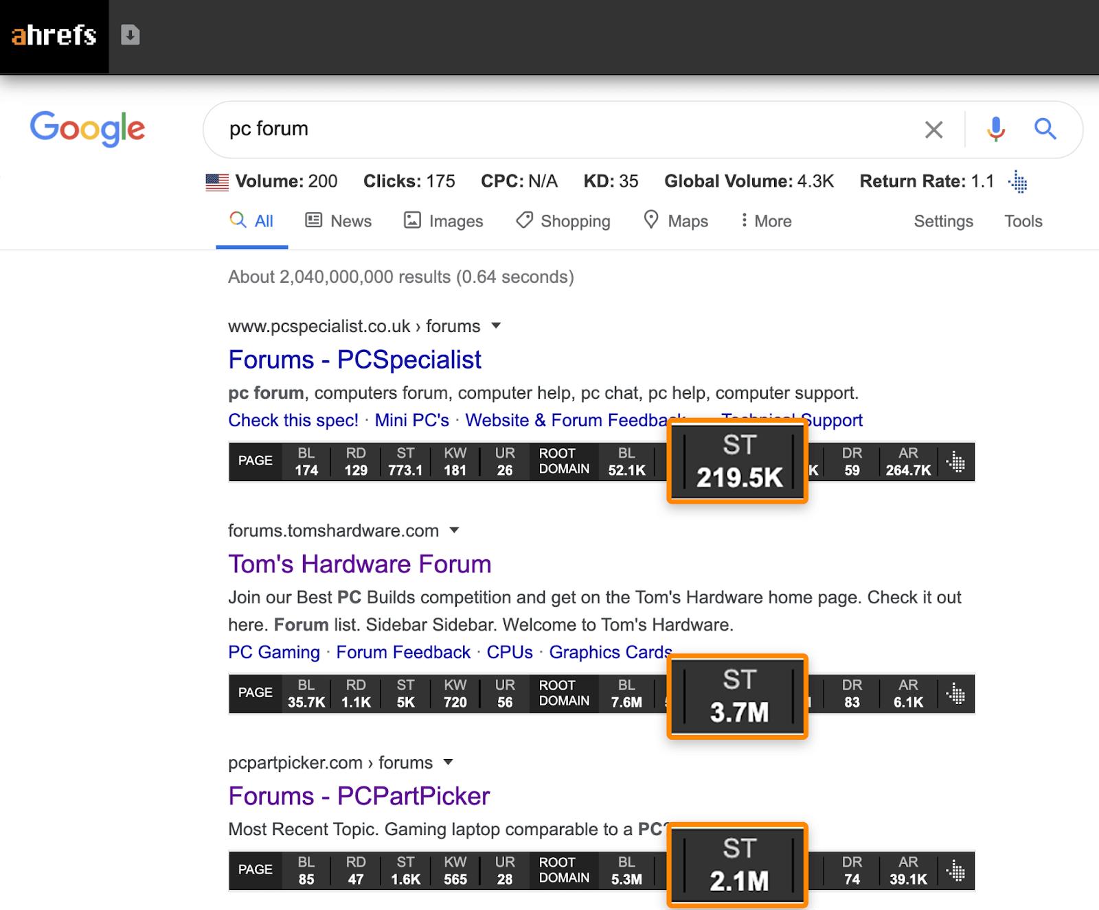 21 google serp pc forum