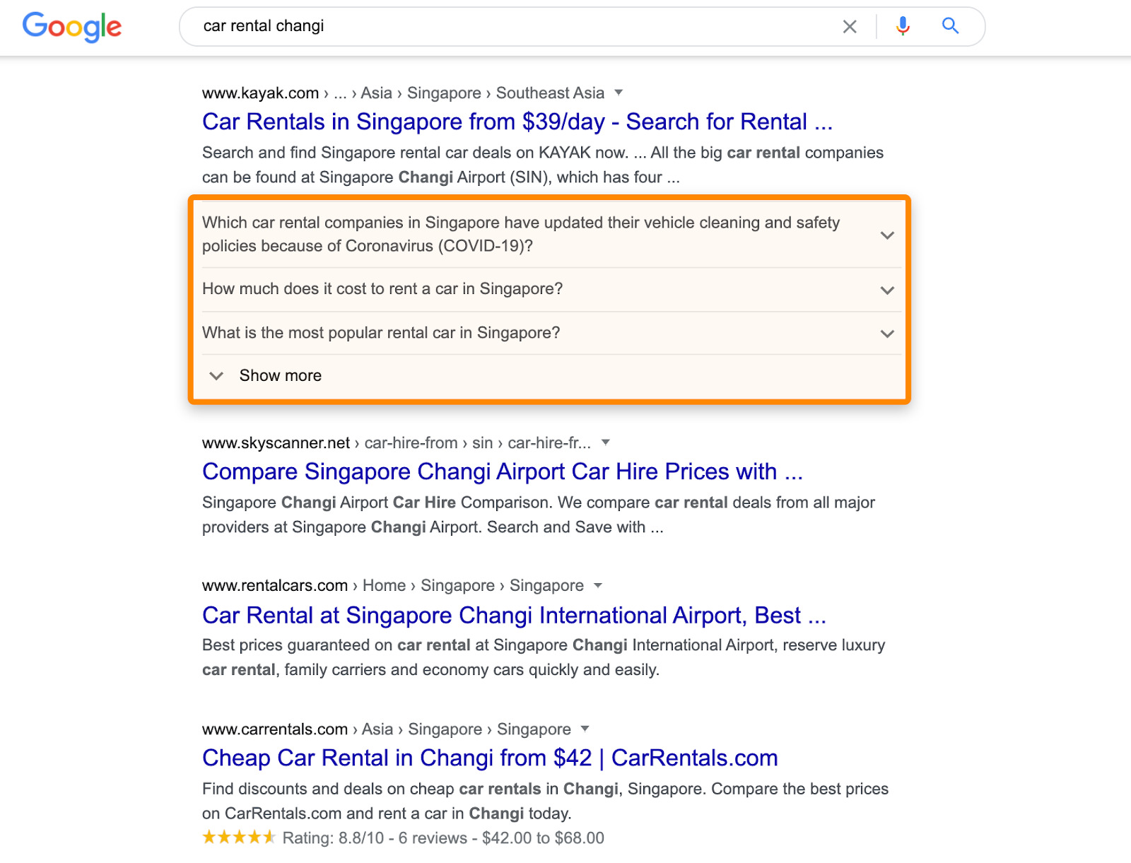 1 rich snippets