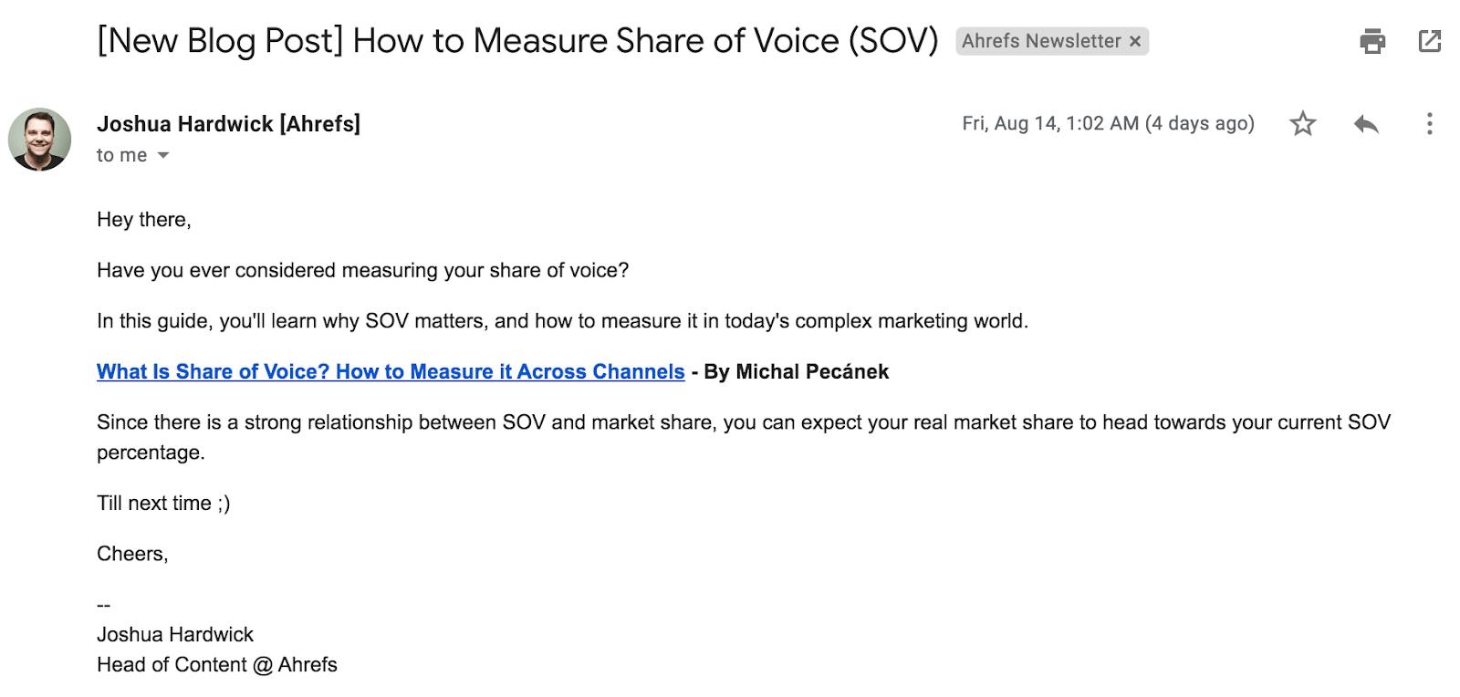 8 email newsletter