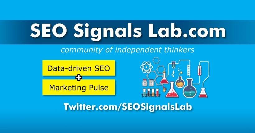 SEO signals laboratory