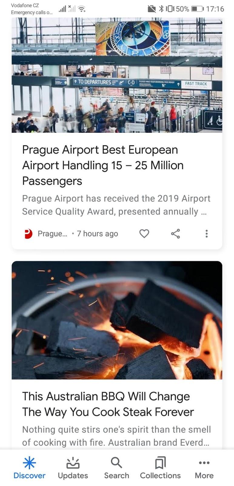 1 flux Google Discover
