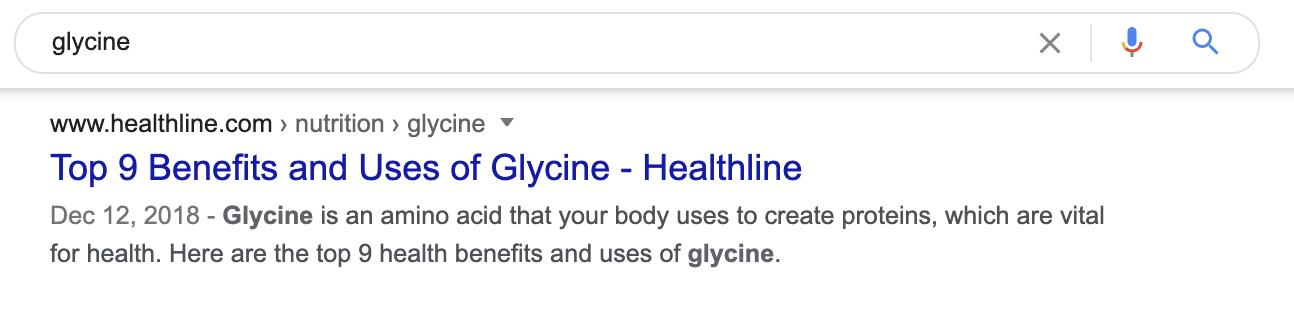 19 healthline meta description