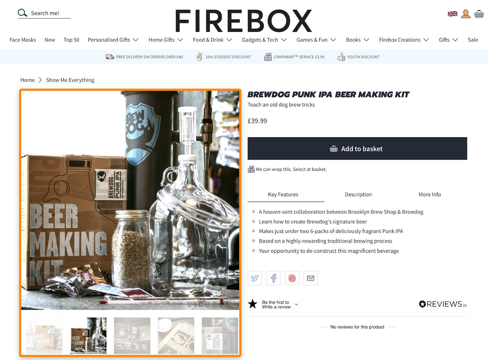 12 firebox product image