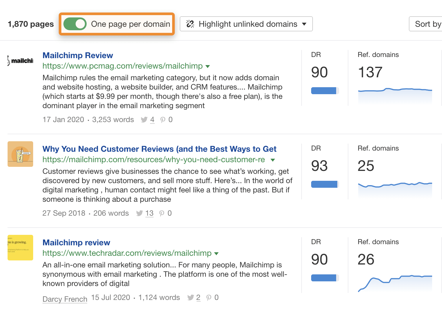 33 content explorer results review 3
