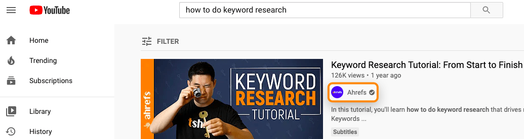 5 how to do keyword research youtube