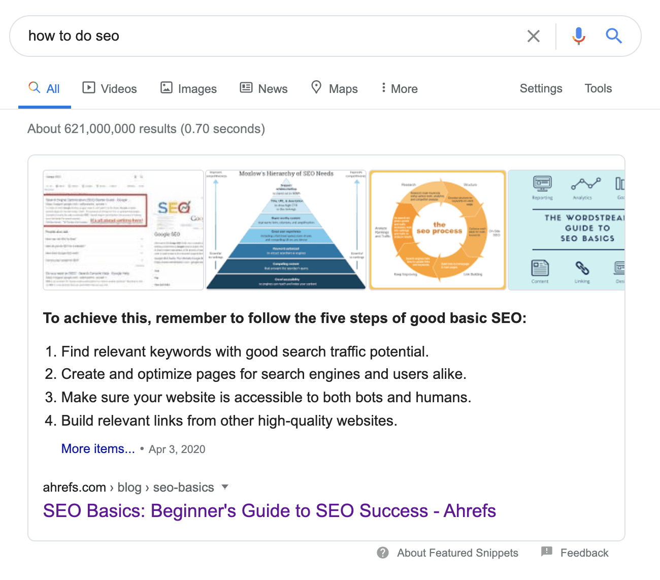 12 featured snippet 3