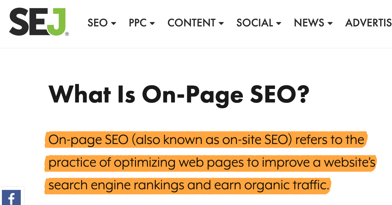 On-Page SEO: Complete Beginner's Guide 10