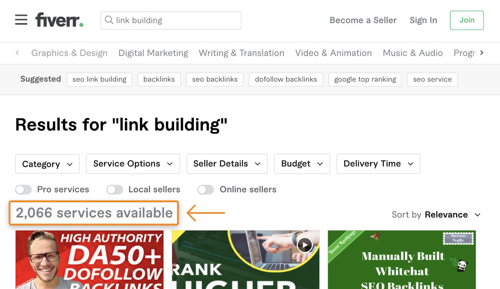 9 fiverr link building services 3
