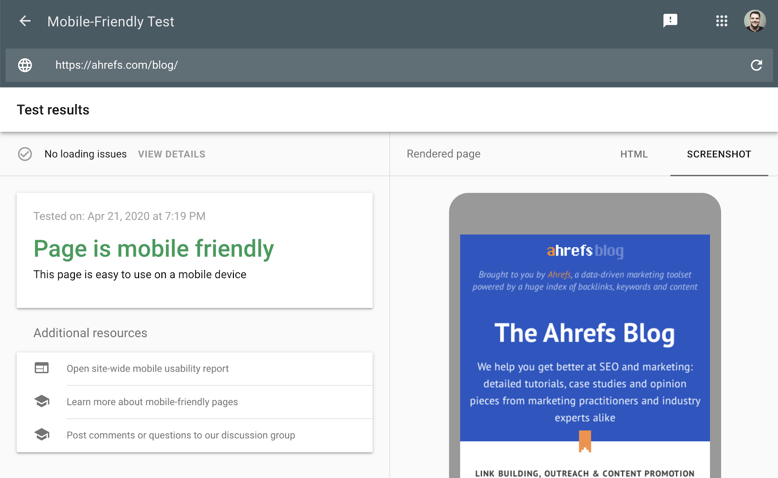 9 google mobile friendly test