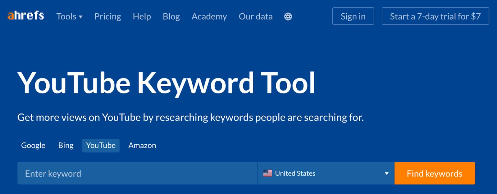 9 youtube keyword tool