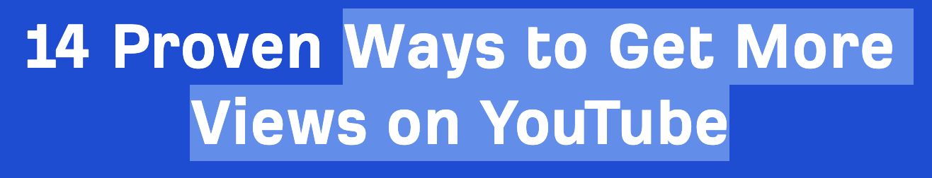 14 youtube views title tags