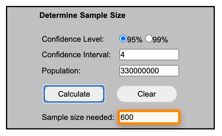 3 sample size calculator