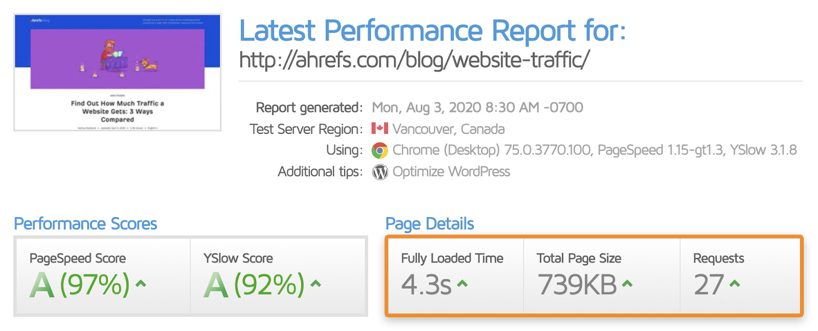 14 pagespeed