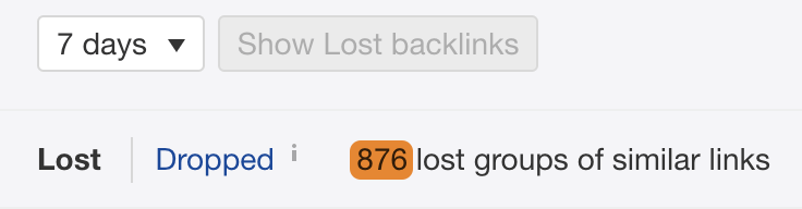 34 lost links