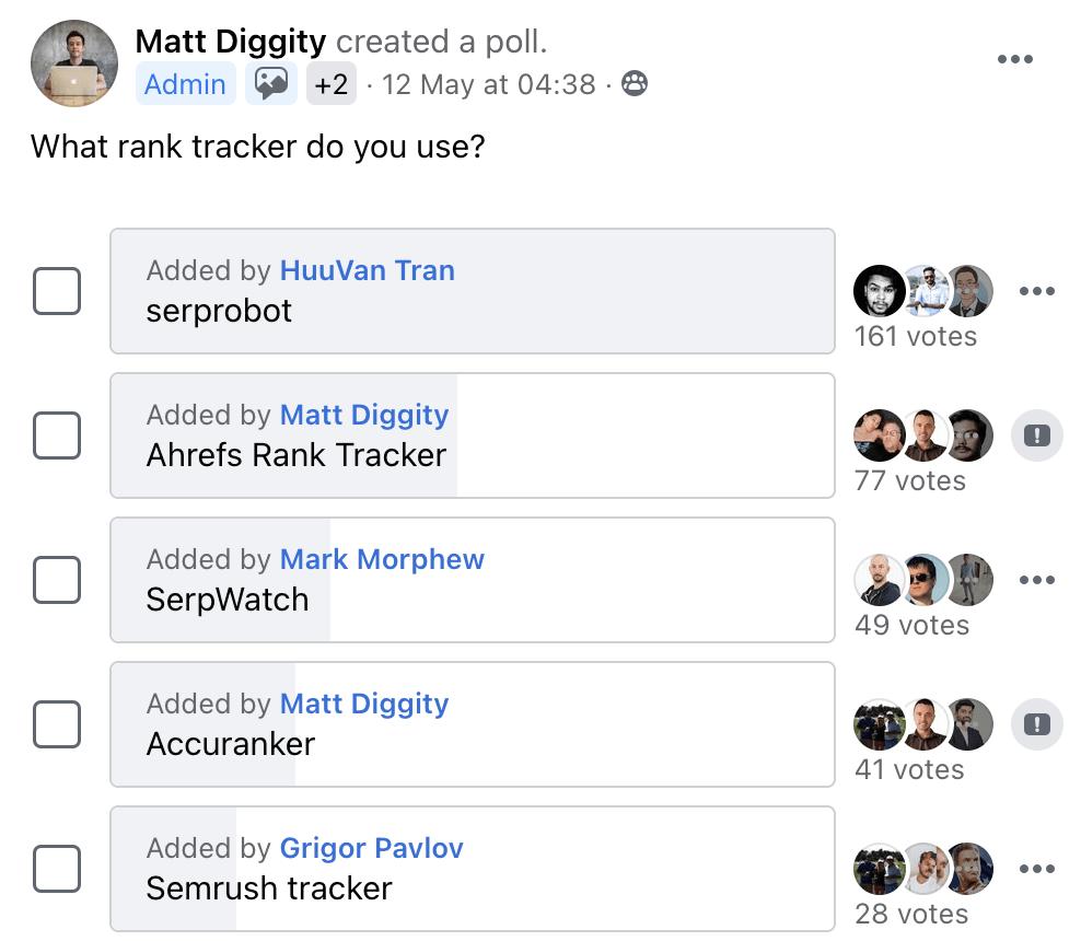 6 matt diggity poll