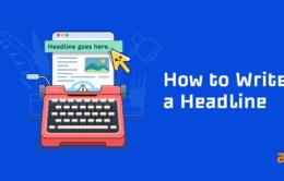 how to write a headline