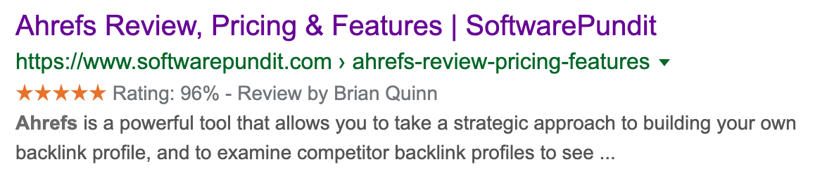 23 ahrefs review rich snippets
