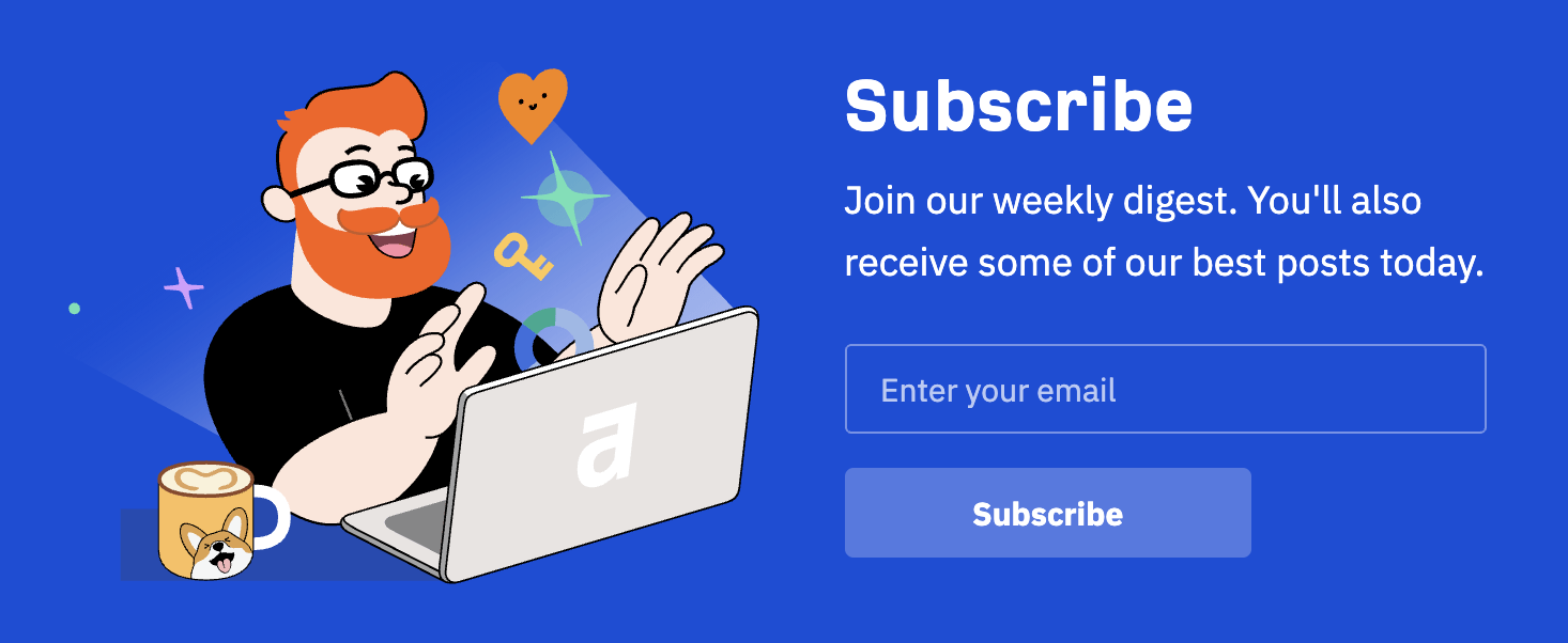 4 ahrefs email newsletter opt in form
